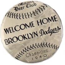 Welcome Home Brooklyn Dodgers